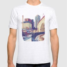 Arch Mens Fitted Tee Ash Grey SMALL