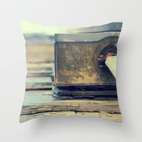 Power Box Throw Pillow