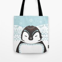 Messer Pinguino Tote Bag