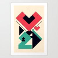 Love 2 Play Art Print