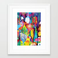 The Art Forest Framed Art Print