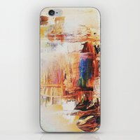 A sense of antiquity Abstract iPhone & iPod Skin