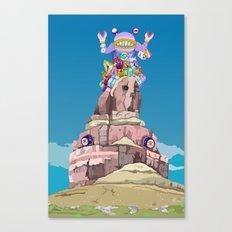 BEN LESSA SATINI Canvas Print
