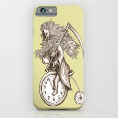 Father Time on a Penny Farthing iPhone 6 Slim Case