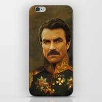 Tom Selleck - Replacefac… iPhone & iPod Skin