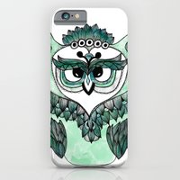 iPhone & iPod Case featuring Mr. Owl by InfinityDesignCo.