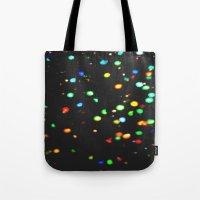 Sparkles: Neon Lights Tote Bag