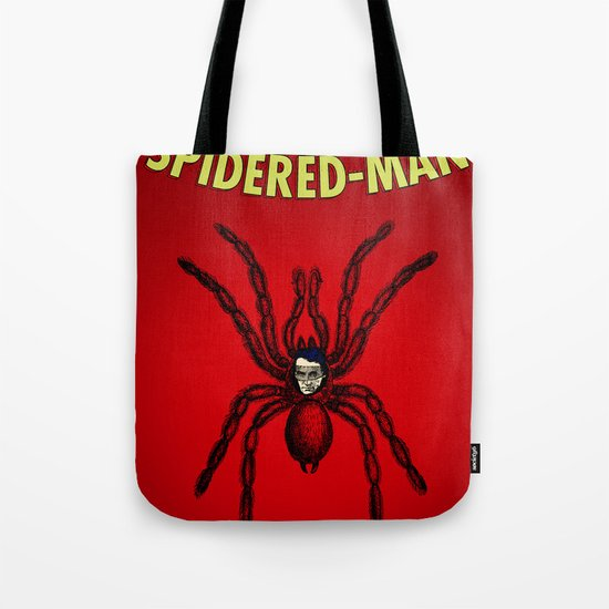 The Unmazing Spidered-Man Tote Bag