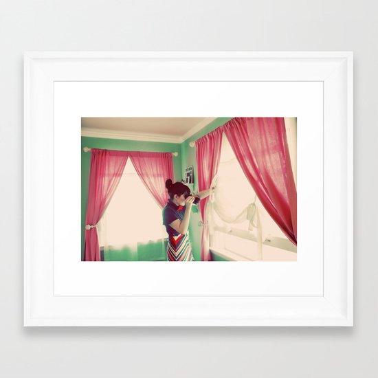 Before the Voyage Framed Art Print