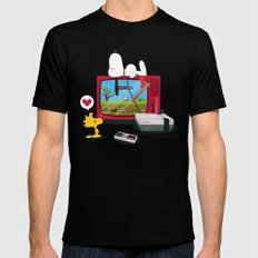 Duck Game SMALL Mens Fitted Tee Black