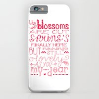 The Blossoms Are Out iPhone 6 Slim Case