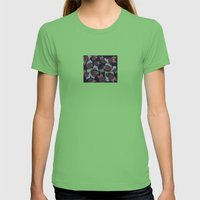 Something Alive 3 Womens Fitted Tee Grass SMALL