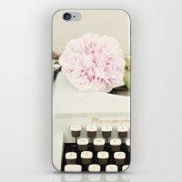 Remington and rose iPhone & iPod Skin