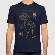 Dill  Mens Fitted Tee Navy SMALL