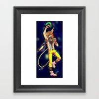 Topless Tour Framed Art Print