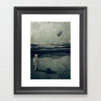 Anatomy Space I Framed Art Print