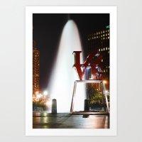 Love Park Art Print