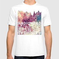 Radiohead: I Will See You in the Next Life Mens Fitted Tee White SMALL