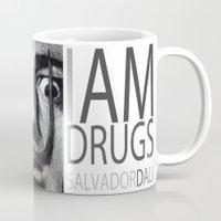 I am drugs ( Salvador Dali ) Mug