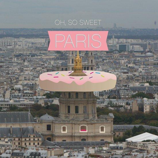OH SO SWEET PARIS Art Print