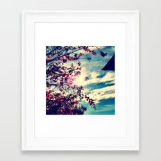 Spring 1 Framed Art Print