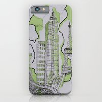 iPhone & iPod Case featuring The World Traveler by Teresa Cook