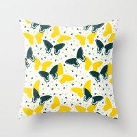 Butterflies two Throw Pillow