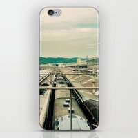 Train Station iPhone & iPod Skin