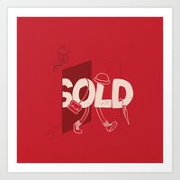 Sold Out Art Print