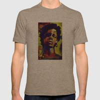 Portrait * Darren Le Gal… Mens Fitted Tee Tri-Coffee SMALL