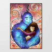 I'll Miss You, Genie Canvas Print