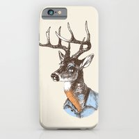 Lucienne the crying deer (with tattoos) iPhone 6 Slim Case