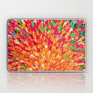 NEON SPLASH - WOW Intens… Laptop & iPad Skin
