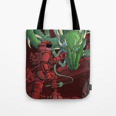 The Dragon on Mars Tote Bag