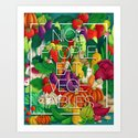 Nice People Eat Vegetables (Feat. Lidija Paradinovic) Art Print
