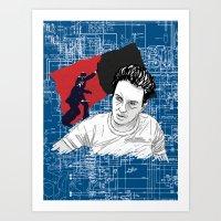 Joe Strummer: Sandinista… Art Print