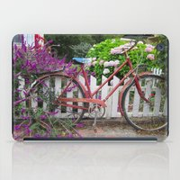 Red Bicycle iPad Case