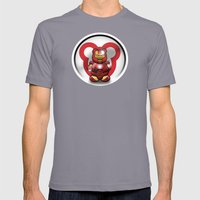 Super Bears - the Invincible One Mens Fitted Tee Slate SMALL