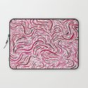 Upstream/Downstream - Red Laptop Sleeve