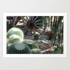 Cacti Farm Art Print