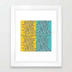 fish only Framed Art Print