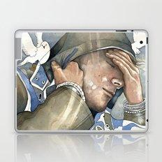 Dreams of freedom II, watercolor Laptop & iPad Skin