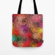 Rose Flow(4). Tote Bag