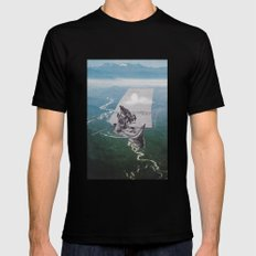 set sail SMALL Black Mens Fitted Tee