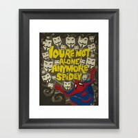 Paper Crossover - On The… Framed Art Print