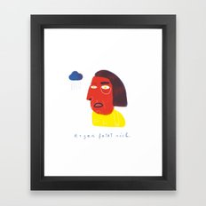 R E G E N  Framed Art Print