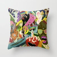 The Circus #01 Throw Pillow