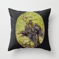 White Knight Throw Pillow