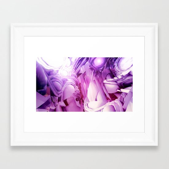 Controlled Chaos Framed Art Print