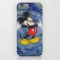 iPhone & iPod Case featuring Mousy Night by loyola